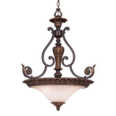 Savoy House Cordoba 3 Light Inverted Pendant