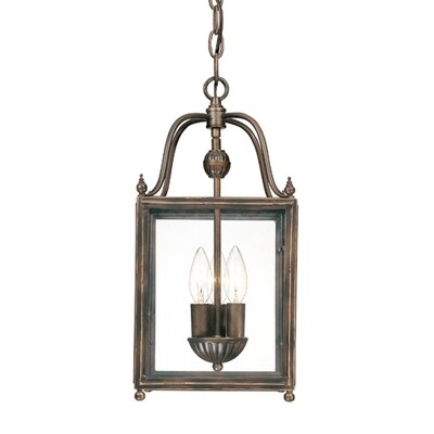 Crabapple 3 Light Foyer Pendant