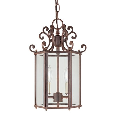 Liberty 2 Light Foyer Pendant