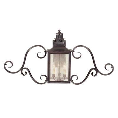 Savoy House Monte Grande 3 Light Outdoor Wall Lantern