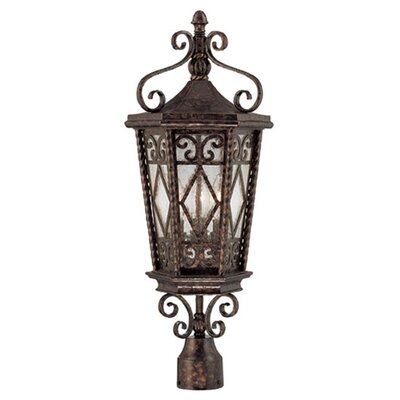Wildon Home ® Pierce Paxton 3 Light Post Lantern