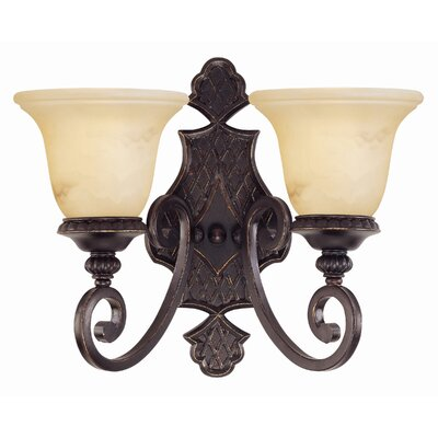 Savoy House Knight 2 Light Wall Sconce