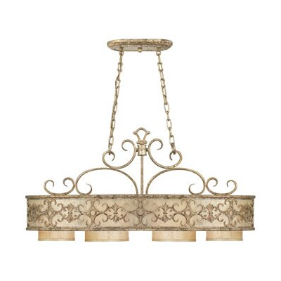 Savoy House Savonia 4 Light Oval Chandelier