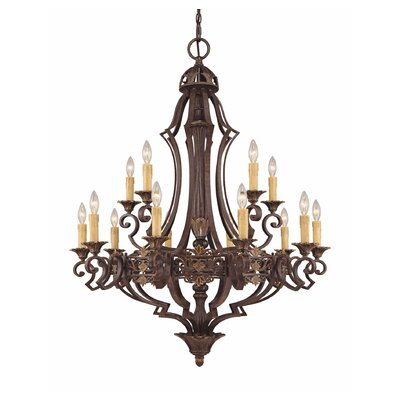 Savoy House Southerby 15 Light Chandelier