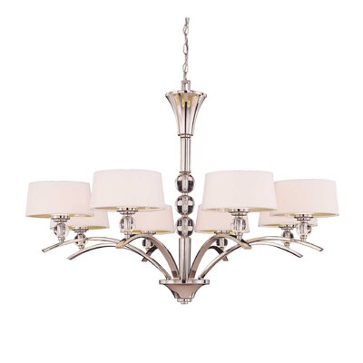 Murren 8 Light Chandelier