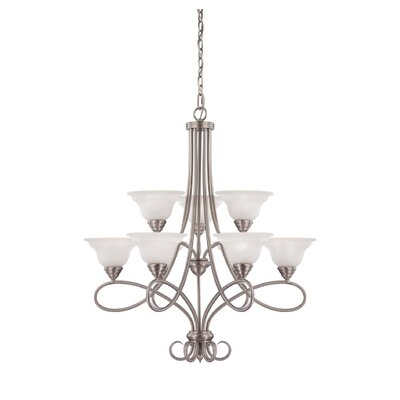 Savoy House Polar 9 Light Chandelier