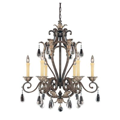 Savoy House Hensley 6 Light Indoor Chandelier