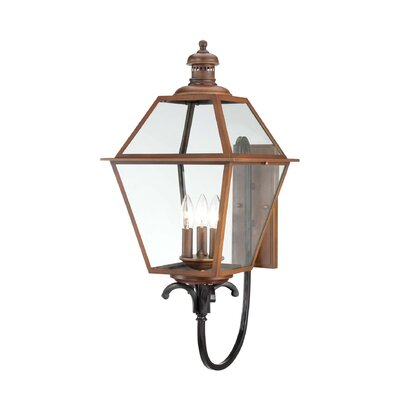 Savoy House 3 Light Outdoor Wall Lantern