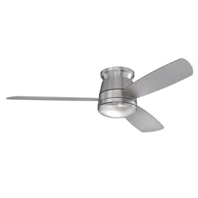 "Savoy House 52"" The Conway 3 Blade Hugger Ceiling Fan with Remote"