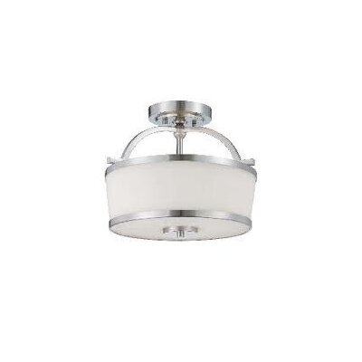 Savoy House Hagen 2 Light Semi Flush Mount