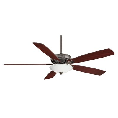 "Wildon Home ® 68"" Adrian 5 Blade Ceiling Fan"