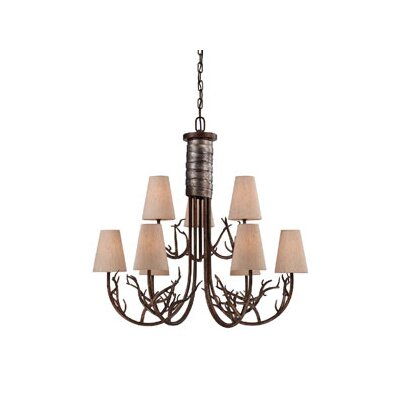 Brambles 9 Light Chandelier
