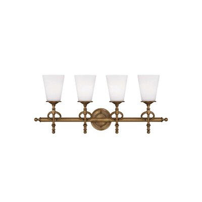 Savoy House Foxcroft 4 Light Bath Vanity Light