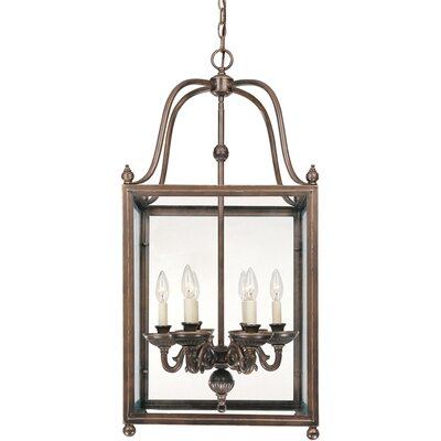 Crabapple 6 Light Foyer Pendant