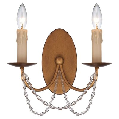 <strong>Savoy House</strong> Abilene 2 Light Wall Sconce