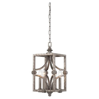 Structure 4 Light Foyer Pendant