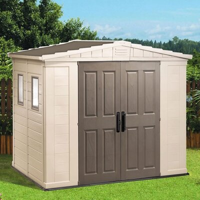 Keter Apex Resin Storage Shed