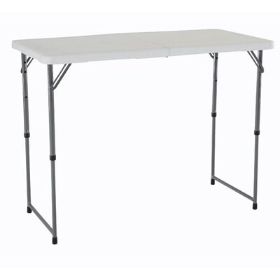 "Lifetime 48"" Rectangular Folding Table"