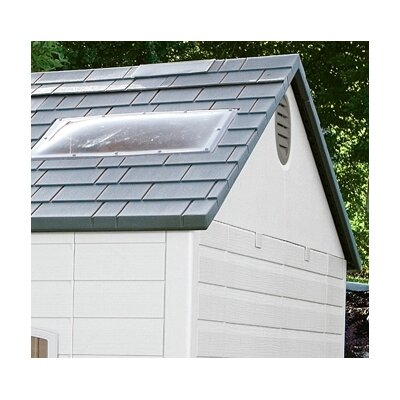 "Lifetime Side Entry 9'8"" W x 7'8"" D Plastic Garden Shed"