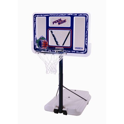 "Lifetime 44"" Fusion Poolside Basketball System"