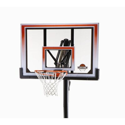 "Lifetime 50"" Portable Basketball System"