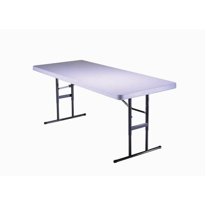 6' Commercial Grade Adjustable Table in Almond