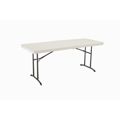 6' Fold-in-Half Table in Almond