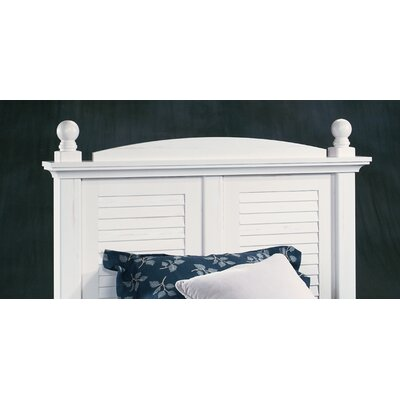 Sauder Harbor View Panel Slat Headboard