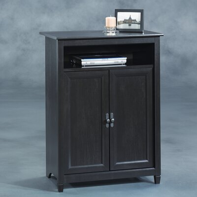 Sauder Edge Water Mobile Lifestyle Center Cabinet
