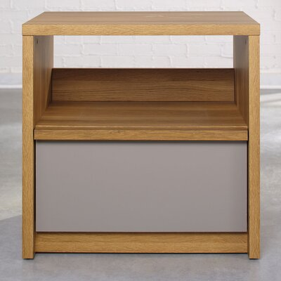 Sauder Soft Modern 1 Drawer Night Stand