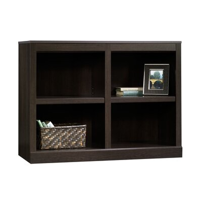 Sauder Storage Bookcase in Cinnamon Cherry