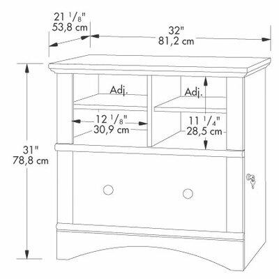 Sauder Harbor View 1-Drawer  File Cabinet