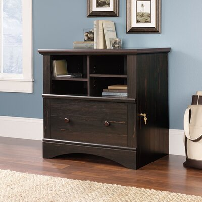 Sauder Harbor View 1-Drawer  File Cabinet