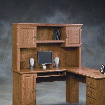 Sauder Orchard Hills Corner Computer Desk with Hutch