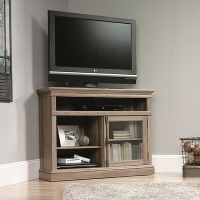 Sauder Barrister Lane Corner Entertainment Stand