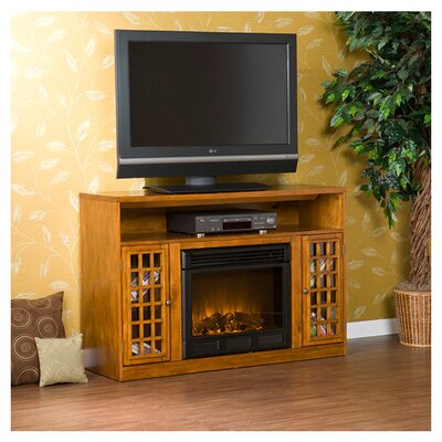 "Lipan 48"" TV Stand with Electric Fireplace"