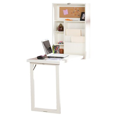 Wildon Home ® Adams Fold Out Convertible Writing Desk