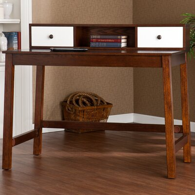 Wildon Home ® Bentley Writing Desk with Hutch