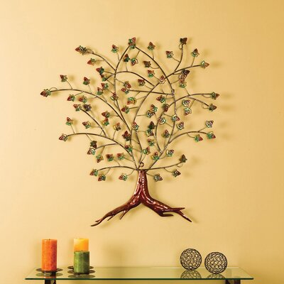 Wildon Home ® Boxwood Foliage Metal Wall Sculpture