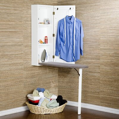 Wildon Home ® Brightlea Wall Mount Ironing Center