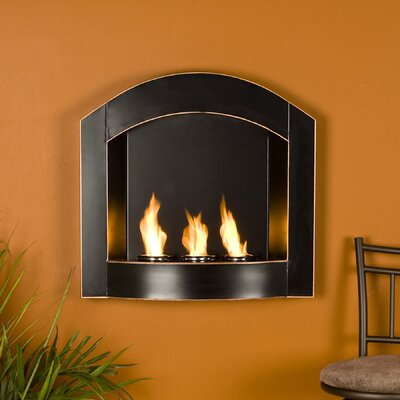 Wildon Home ® Cordova Wall Mounted Gel Fuel Fireplace