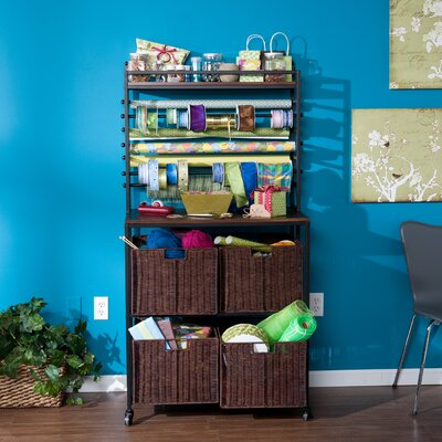 Wildon Home ® Lynbar Craft Storage Rack with Baskets