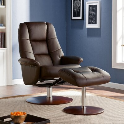 Wildon Home ® Kipton Recliner and Ottoman
