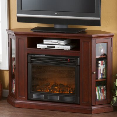 """Wildon Home ® Stuart 48"""" TV Stand with Electric Fireplace"""