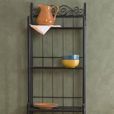 Wildon Home ® Scout Scrolled Baker's Rack