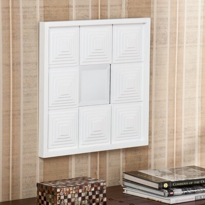 Wildon Home ® Blanchett Square Mirror