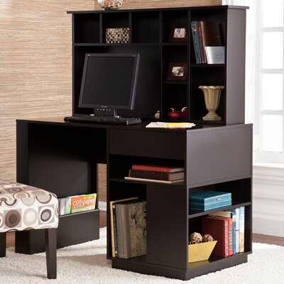 Wildon Home ® Colbert Computer Desk with Hutch