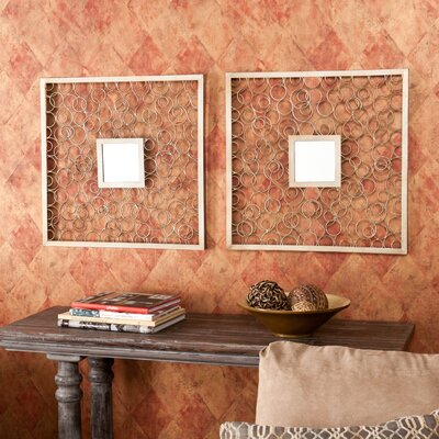 Wildon Home ® Hollis Mirror (Set of 2)