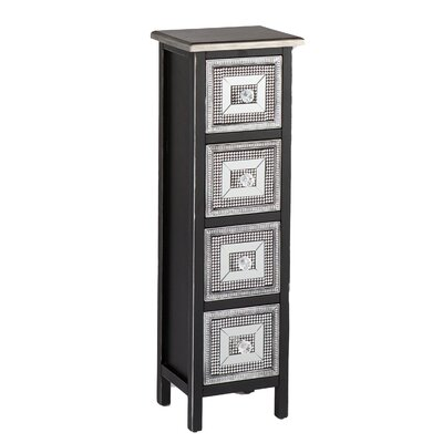 Wildon Home ® Woburn 4 Drawer Storage Tower