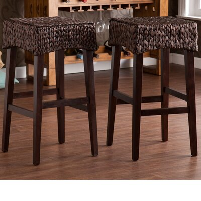 Wildon Home ® Glendale Bar Stool (Set of 2)